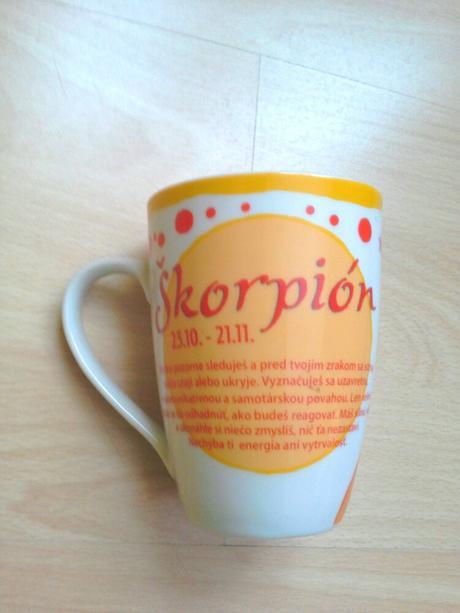 Hrnček Skorpion,