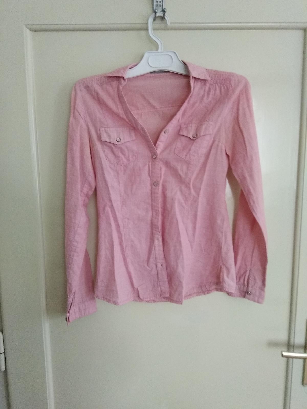 Růžová košile orsay f18ae174d5