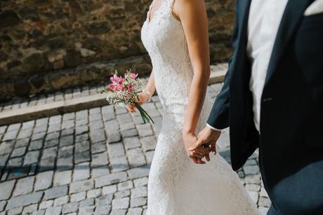 Krajkove svatebni saty 36-38, 36