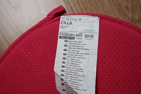 Podsedák na židli Ikea Cilla,