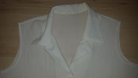 Biely blúzkový top, M