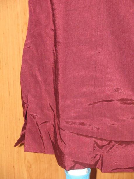 Bordové šaty, 40