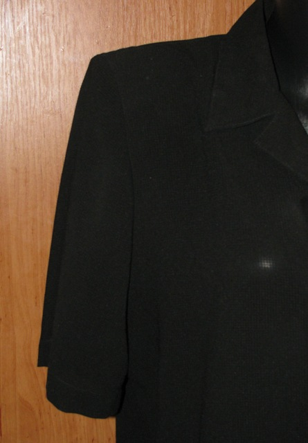Čierna blúzka v. 48/50, 48