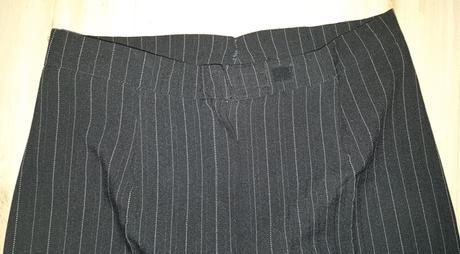 Čierno - biele nohavice, 40