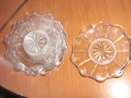 sklenene tanieriky ,