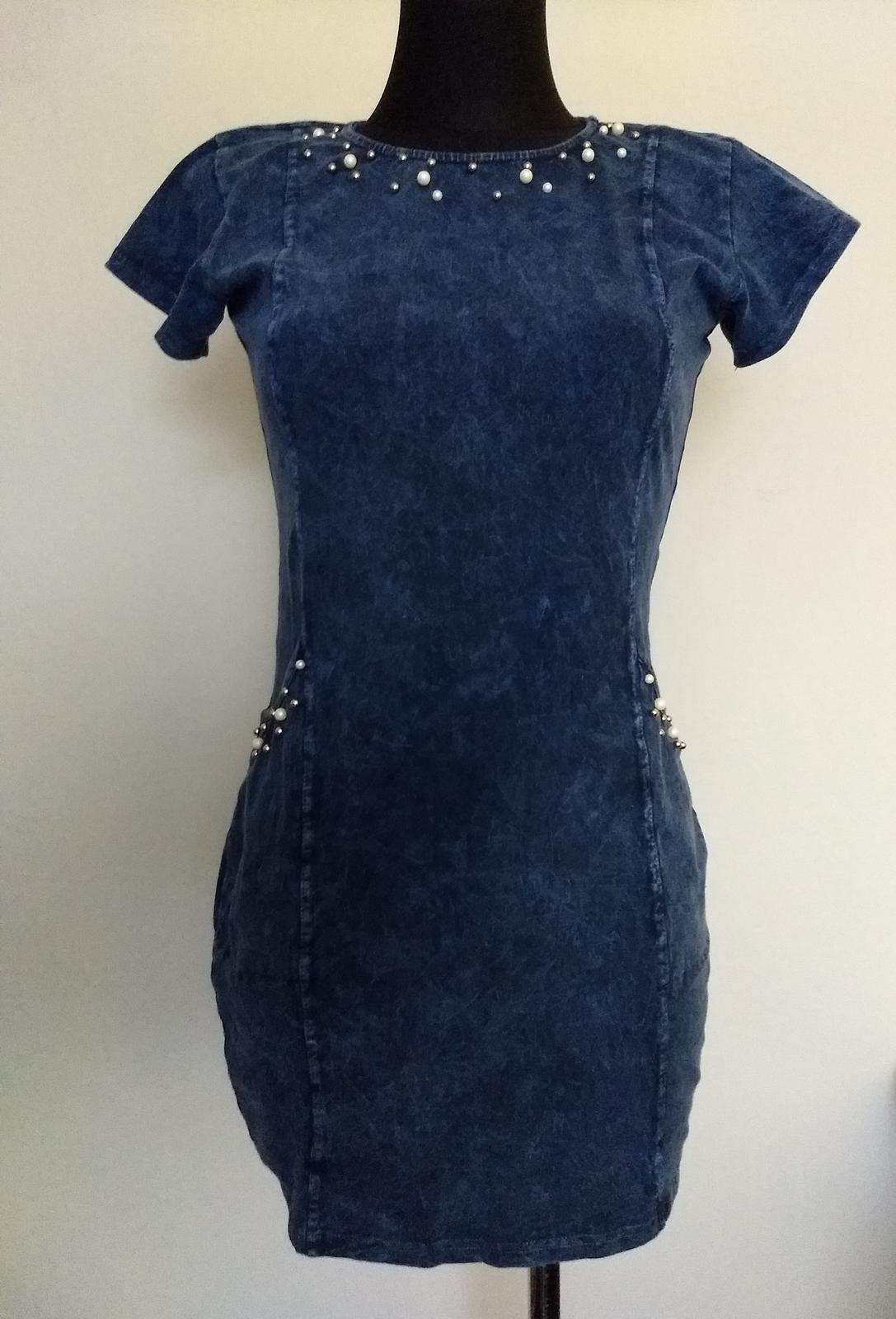 Riflové šaty 5adc6f7562