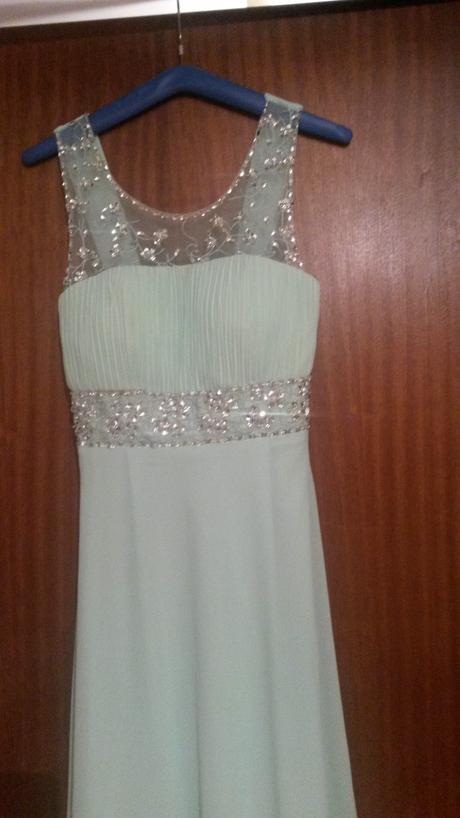 Mentolkové šaty - jemnučké , M