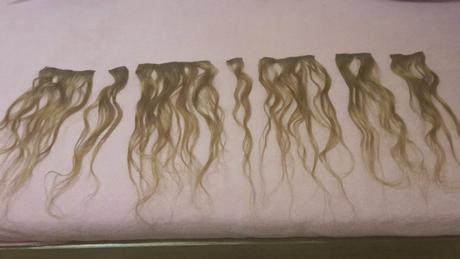 Prírodné vlasy - príčesok clip in,