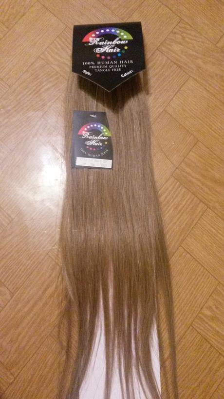 Vlasový príčesok - prírodné vlasy,