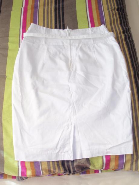 biela sukna, velkosť 38, 38