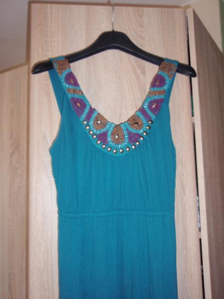 dlhé letné šaty, kupované v CA, M