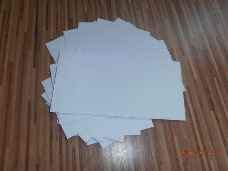 obálky,