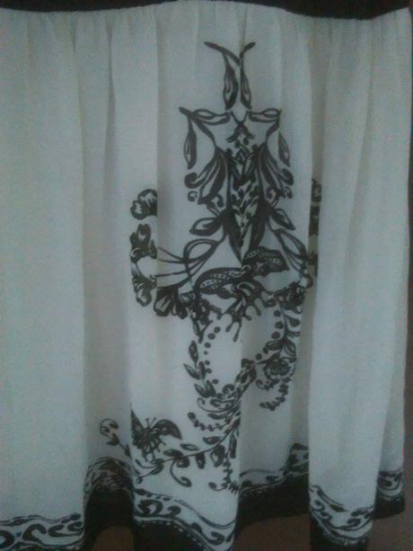 Černobílé šaty z Bonprix-odpovídají vel.M, 40