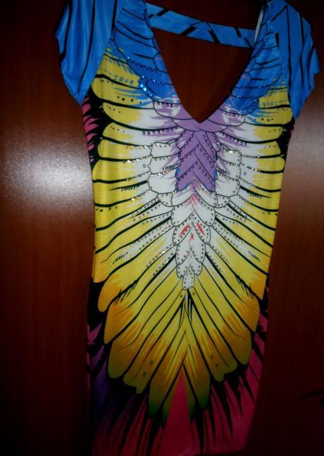 Originální barevné šatky-vel.38, 38