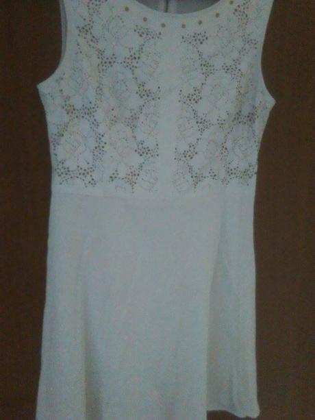Promod bílé originální šaty - 40, 40