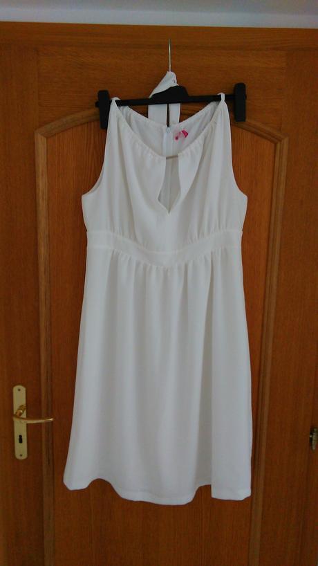 Těhotenské svatební šaty značky Happymum, 44