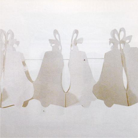 Pap. girlanda zvony 4 m, pr. 16,5 cm,