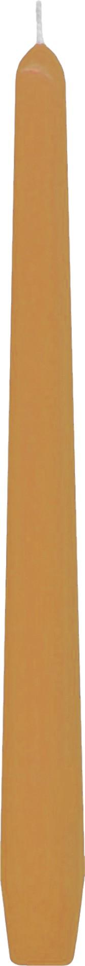 Svíčka kónická apricot 24,5 cm,