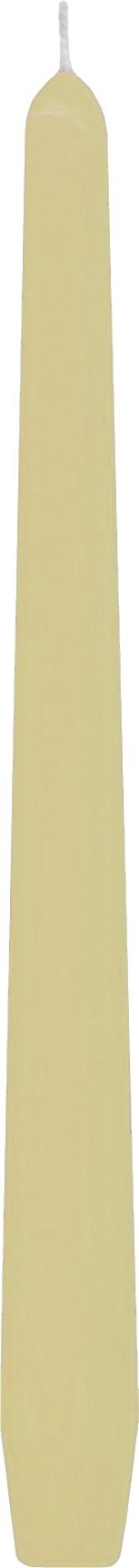 Svíčka kónická béžová 24,5 cm,
