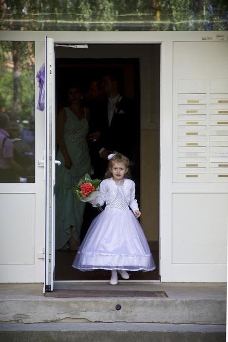 Šaty na svadbu pre družičku,