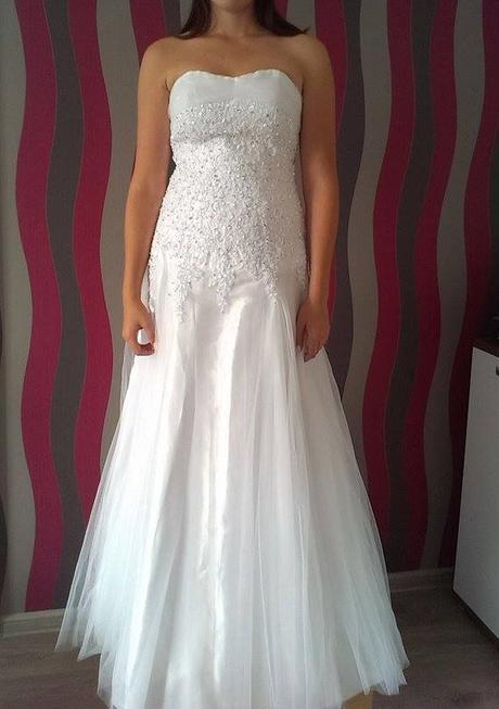 Svadobné šaty biele, 38