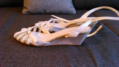 Biele sandálky, 39