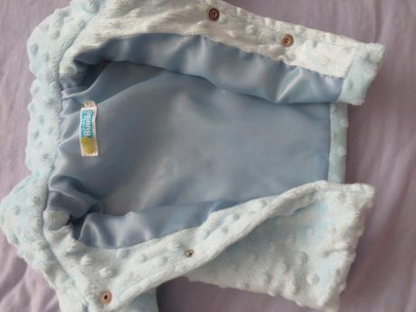 Nenosený slávnostný kabátik zimný, 74