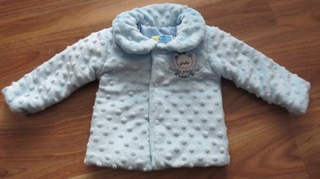 Nenosený slávnostný kabátik zimný, 80