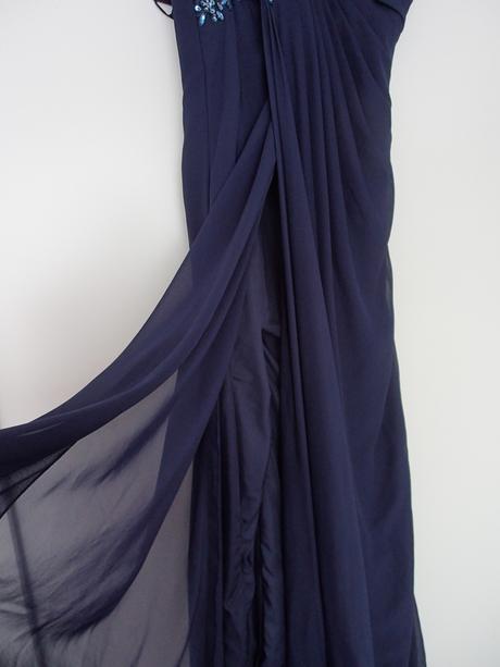 Šifonové šaty pre vyššie dámy - cena s poštou, 36