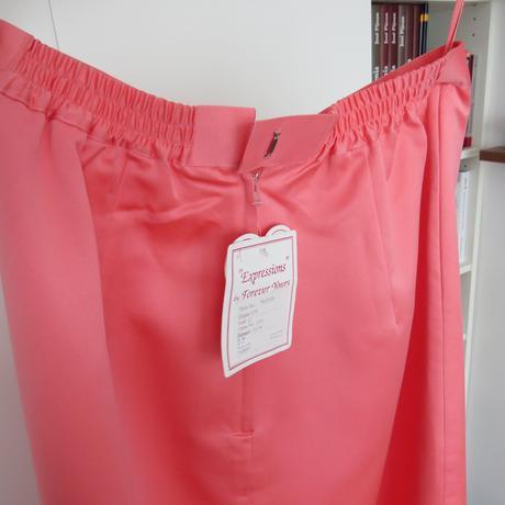 Spoločenská saténová sukňa pre vysoké dámy, L