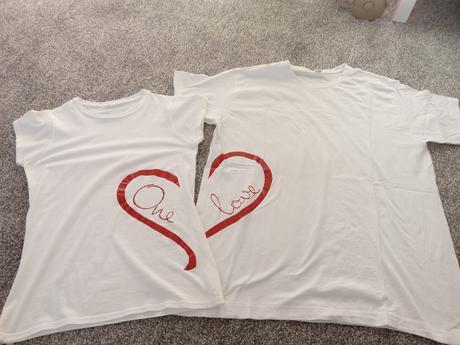 dámské a pánské tričko pro novomanželé XS a L,