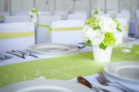 váza, aranžmá na stůl,