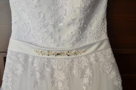 Svadobné šaty šité na mieru, 36