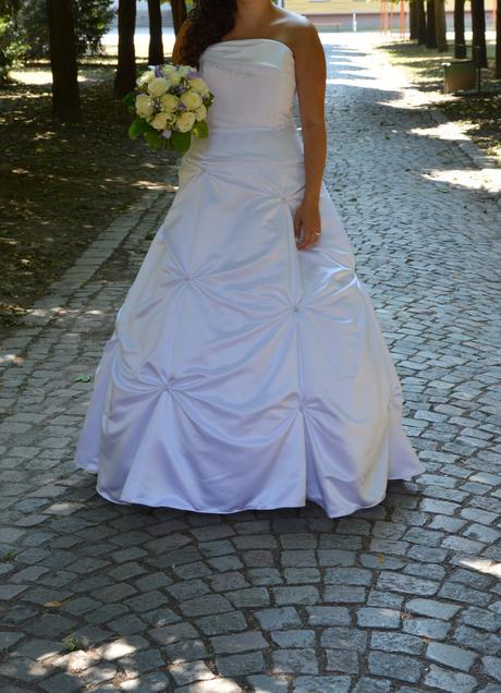 Svatební šaty vel 40-46, 40