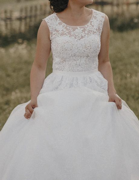 Svadobné šaty Isabel, 36