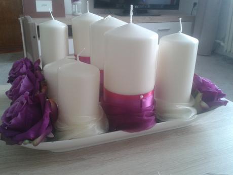 6ks misek na svíčky,