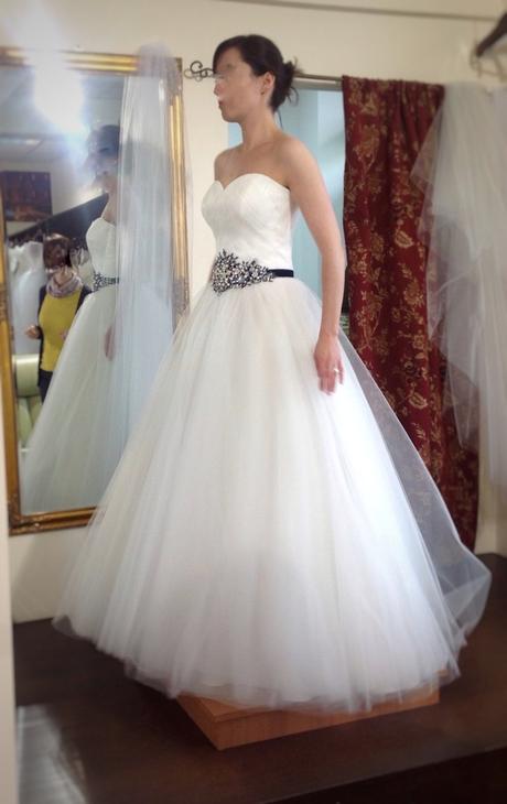 Nenošené svatební šaty - 36, 36
