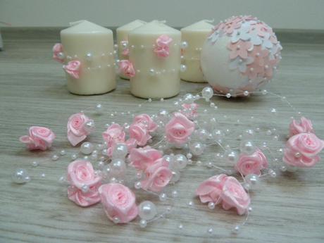Perličky s růžičkami,