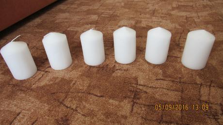 Bílé svíčky,