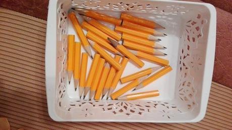 Tužky a napínáčky,