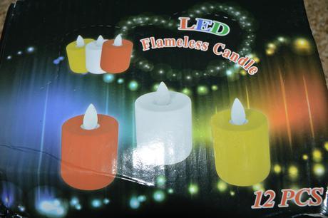 Led svíčky,