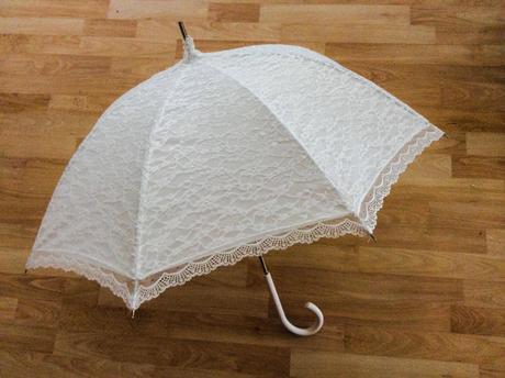 Krajkový deštník,