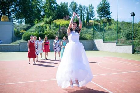 Krajkové svatební šaty , 38