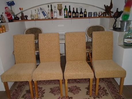 Čalouněné židle 4 kusy.,