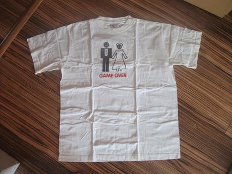Dámske a pánske tričko GAME OVER,