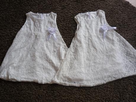 krajkové šaty pro družičky vel. 3-4 roky, 104