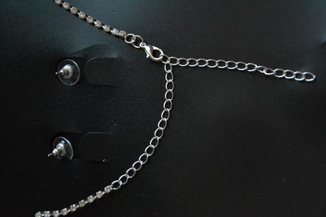 svatební set náušnice a náhrdelník,