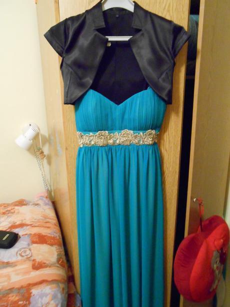 Zelené spoločenské šaty, veľkosť 36, 36