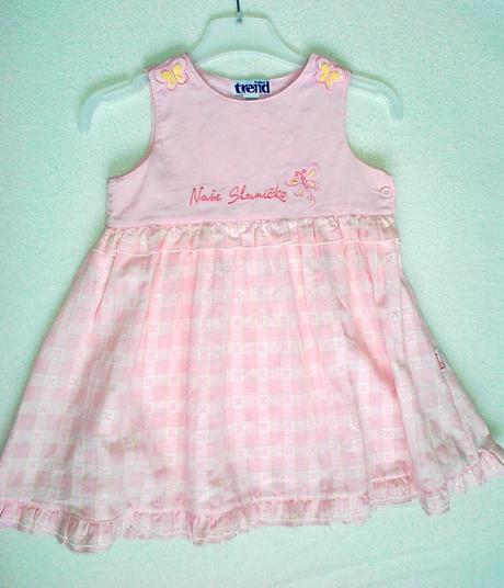 Šaty, šatičky pro holčičku, Tulec Trend, 92