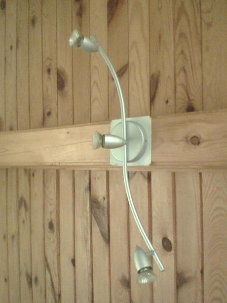 3 bodová stropná lampa,